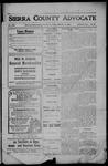 Sierra County Advocate, 1908-10-16 by J.E. Curren