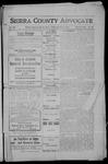 Sierra County Advocate, 1908-10-30 by J.E. Curren