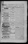 Sierra County Advocate, 1908-11-27 by J.E. Curren