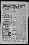 Sierra County Advocate, 1908-12-04 by J.E. Curren