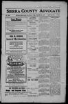 Sierra County Advocate, 1908-12-25 by J.E. Curren