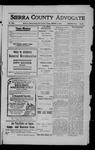 Sierra County Advocate, 1909-01-01 by J.E. Curren