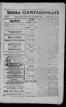 Sierra County Advocate, 1909-01-08 by J.E. Curren