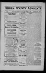 Sierra County Advocate, 1909-02-05 by J.E. Curren