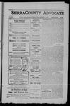 Sierra County Advocate, 1909-02-19 by J.E. Curren