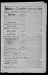 Sierra County Advocate, 1909-02-26 by J.E. Curren