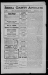 Sierra County Advocate, 1909-03-19 by J.E. Curren