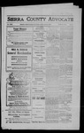 Sierra County Advocate, 1909-04-09 by J.E. Curren