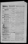 Sierra County Advocate, 1909-04-09