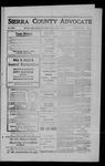 Sierra County Advocate, 1909-04-16 by J.E. Curren