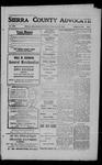 Sierra County Advocate, 1909-04-30 by J.E. Curren
