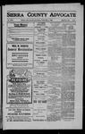 Sierra County Advocate, 1909-05-07 by J.E. Curren