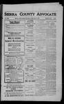 Sierra County Advocate, 1909-05-14 by J.E. Curren