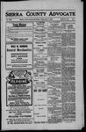 Sierra County Advocate, 1909-05-21