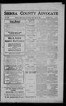 Sierra County Advocate, 1909-05-28