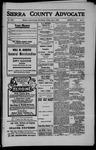 Sierra County Advocate, 1909-06-04 by J.E. Curren