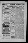 Sierra County Advocate, 1909-06-18 by J.E. Curren