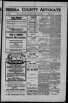 Sierra County Advocate, 1909-07-02 by J.E. Curren