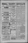 Sierra County Advocate, 1909-08-20 by J.E. Curren