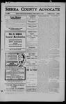 Sierra County Advocate, 1909-08-27 by J.E. Curren