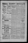 Sierra County Advocate, 1909-09-24 by J.E. Curren