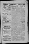 Sierra County Advocate, 1909-10-01