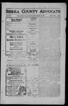 Sierra County Advocate, 1909-10-15 by J.E. Curren