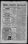 Sierra County Advocate, 1909-11-19