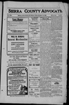 Sierra County Advocate, 1909-12-10 by J.E. Curren