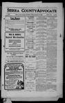 Sierra County Advocate, 1909-12-24 by J.E. Curren