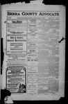 Sierra County Advocate, 1909-12-31 by J.E. Curren