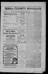 Sierra County Advocate, 1910-01-21 by J.E. Curren