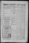 Sierra County Advocate, 1910-01-28 by J.E. Curren