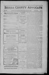 Sierra County Advocate, 1910-02-04 by J.E. Curren
