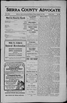 Sierra County Advocate, 1910-02-18 by J.E. Curren