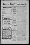 Sierra County Advocate, 1910-02-25 by J.E. Curren
