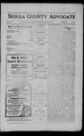 Sierra County Advocate, 1910-03-04 by J.E. Curren