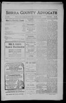 Sierra County Advocate, 1910-03-18 by J.E. Curren
