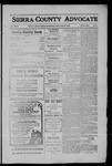 Sierra County Advocate, 1910-04-08 by J.E. Curren
