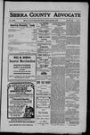 Sierra County Advocate, 1910-04-22 by J.E. Curren