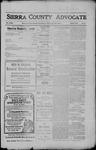 Sierra County Advocate, 1910-04-29 by J.E. Curren