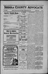 Sierra County Advocate, 1910-05-20 by J.E. Curren