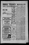 Sierra County Advocate, 1910-05-27 by J.E. Curren