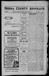 Sierra County Advocate, 1910-06-03 by J.E. Curren