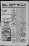 Sierra County Advocate, 1910-06-10 by J.E. Curren