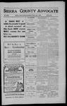 Sierra County Advocate, 1910-07-01 by J.E. Curren
