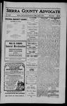 Sierra County Advocate, 1910-08-05 by J.E. Curren
