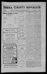 Sierra County Advocate, 1910-08-12 by J.E. Curren