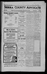 Sierra County Advocate, 1910-08-19 by J.E. Curren