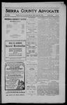 Sierra County Advocate, 1910-08-26 by J.E. Curren